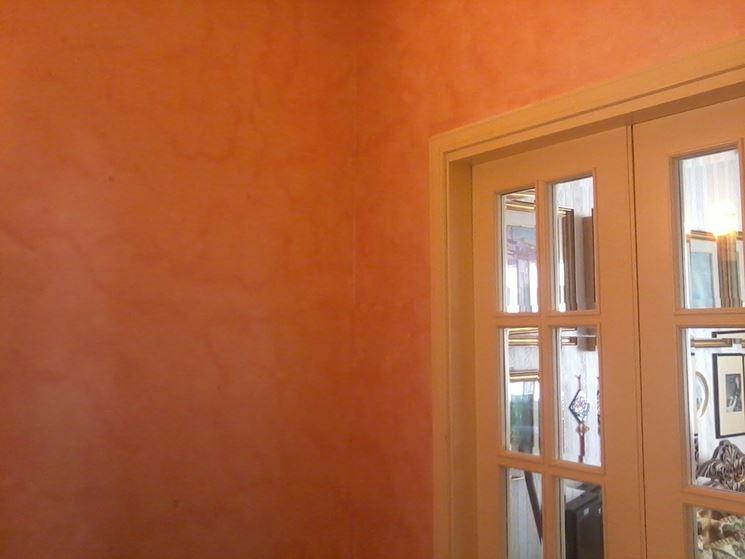 La verniciatura sulle pareti