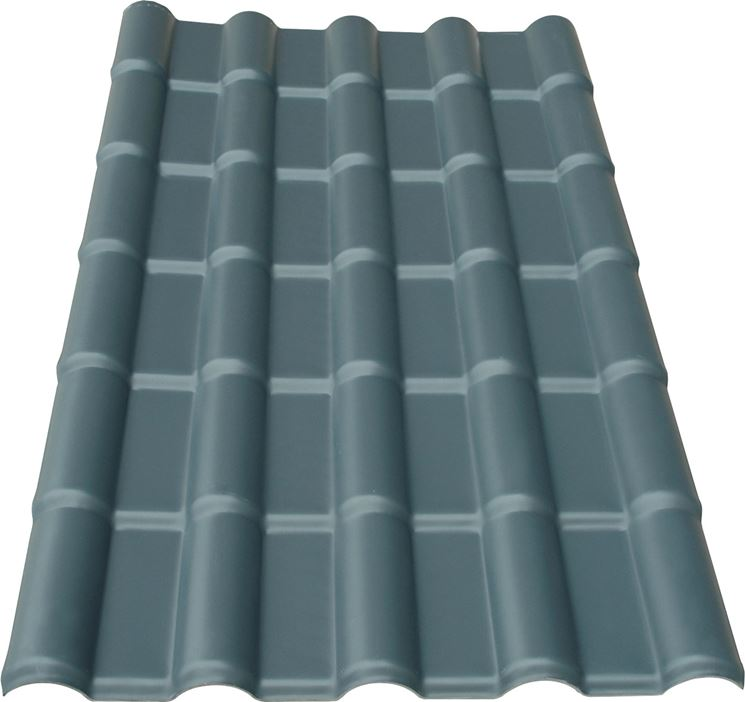Le tegole in plastica - Laterizi tetto - Modelli tegola