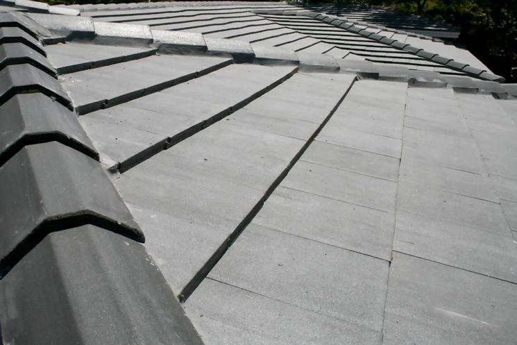 tegole in cemento su tetto