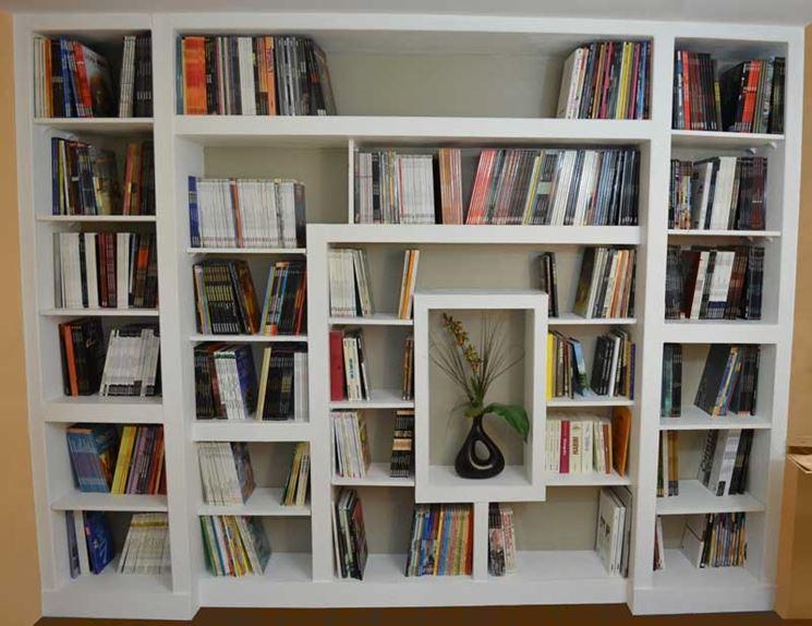 Librerie in cartongesso - Lavori in cartongesso