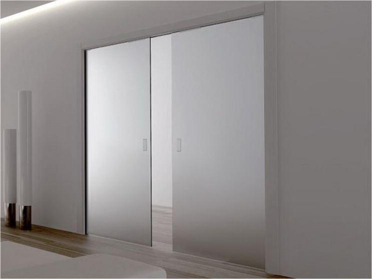 Porta scorrevole cartongesso - Lavori in cartongesso - Installazione porta sc...