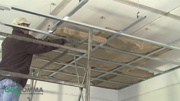 Cartongesso isolante termico materiali da isolamento - Isolare il tetto dall interno ...