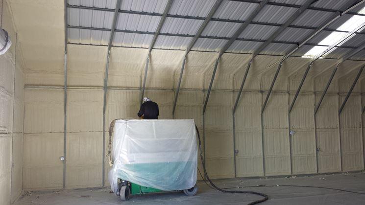 Isolamento termico di una struttura