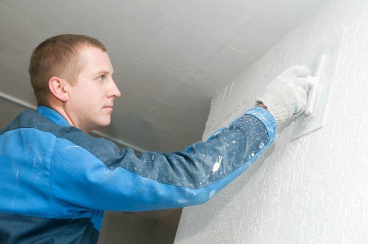 applicare intonaco termico