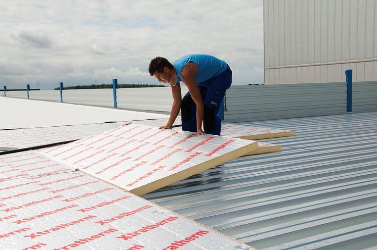 Isolamento termico soffitto. awesome isolamento con pannelli