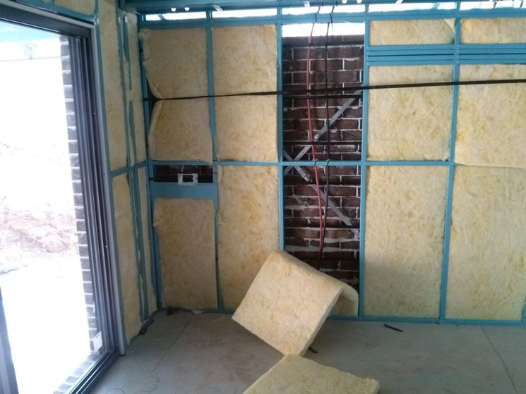 L'isolamento acustico pareti - Materiali da isolamento - Isolare casa