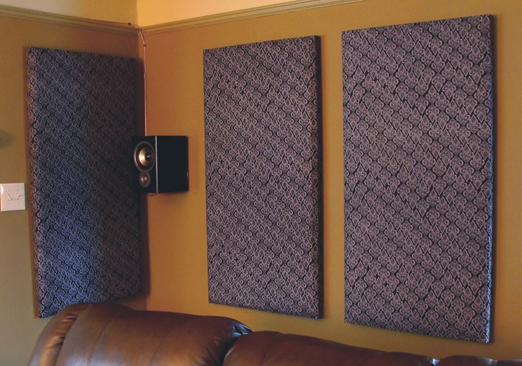 Pannelli isolanti acustici