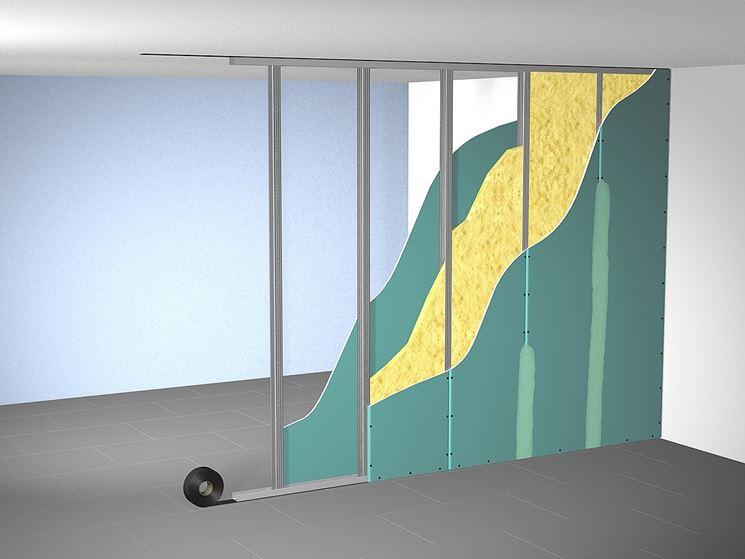 Struttura parete divisoria