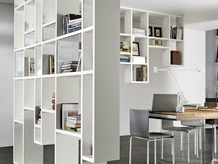 Pareti divisorie attrezzate pannelli divisori tipologie di pareti attrezzate divisorie - Pareti divisorie mobili per abitazioni ...