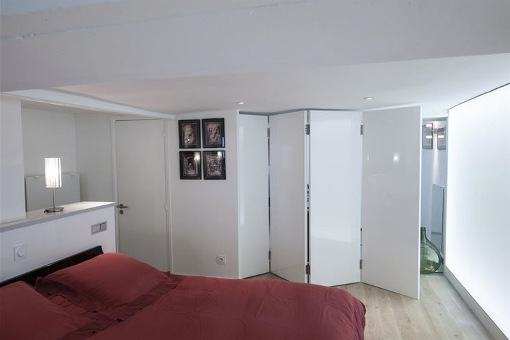 Pareti divisorie casa pannelli divisori pannelli divisori - Porte coulissante separation de piece ...