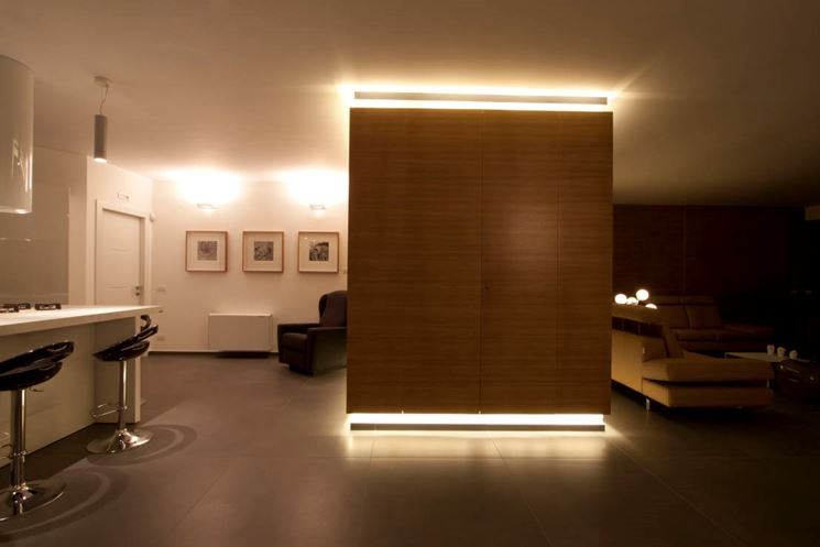pareti divisorie design pannelli divisori pareti