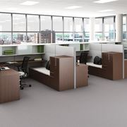 Ufficio con pareti divisorie economiche