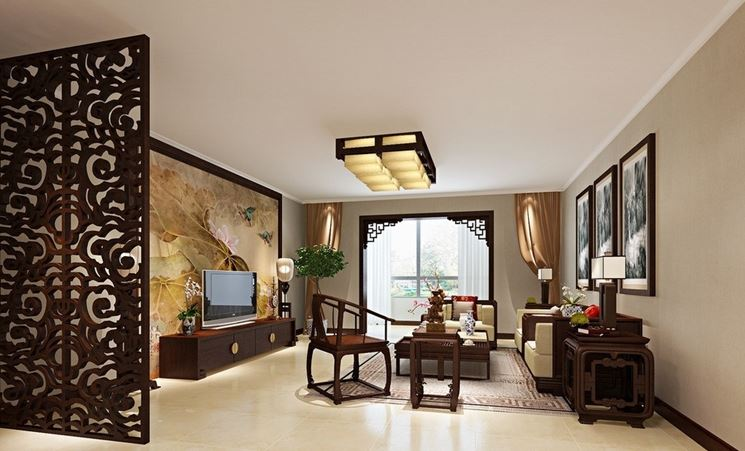 Pannelli divisori in legno pannelli divisori per interni for Pareti divisorie stile giapponese
