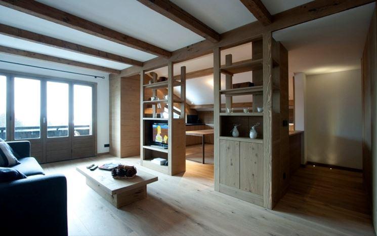 Pareti divisorie interne: Le pareti divisorie interne eleganti e ...