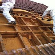 Lavori di coibentazione di un tetto