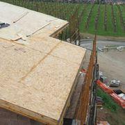 Esempio di copertura del tetto