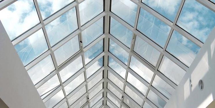 Muri tetto in vetro