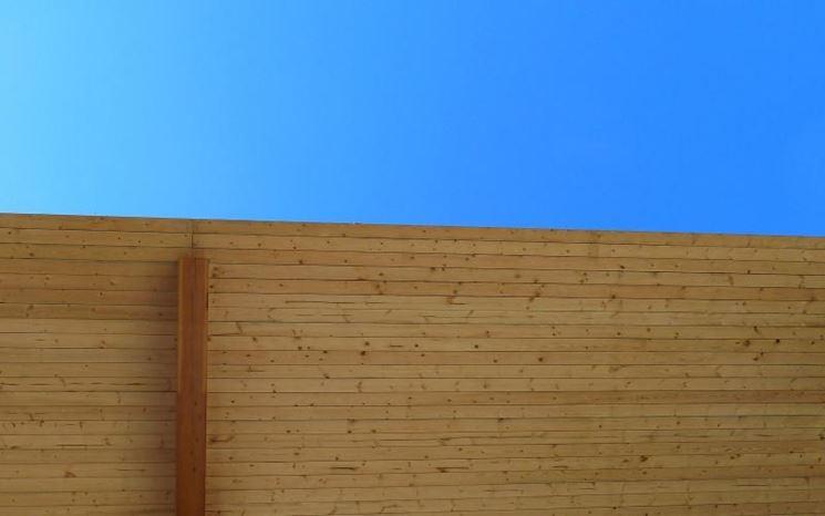 Copertura tetto lamellare in legno