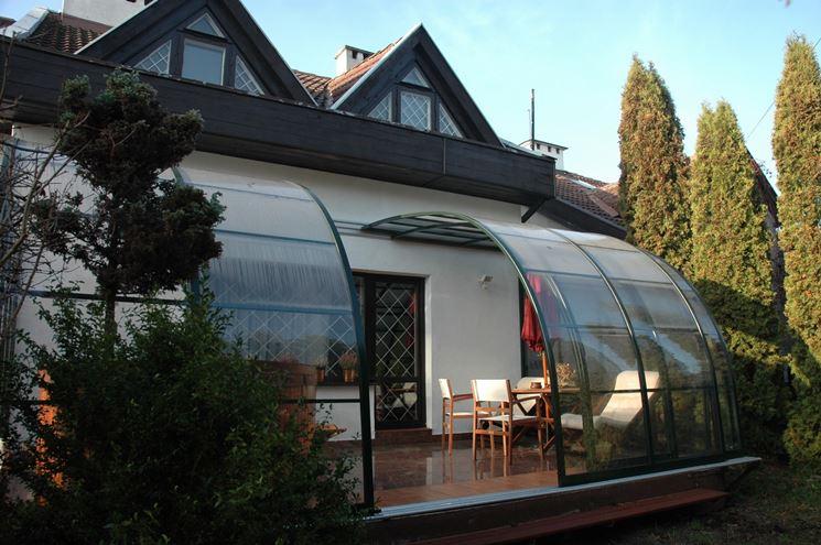 Coperture per terrazzi - Rivestimento tetto - Tettorie terrazzo