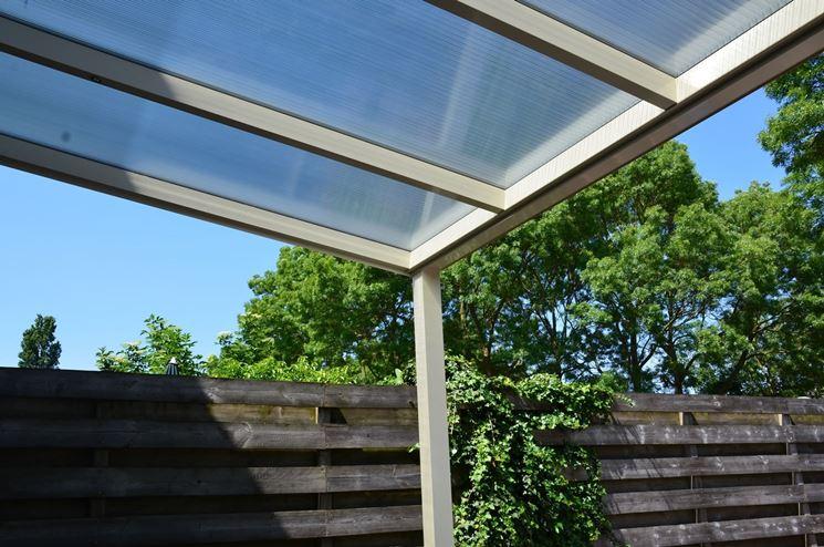 Coperture per tettoie rivestimento tetto for Onduline per tettoie