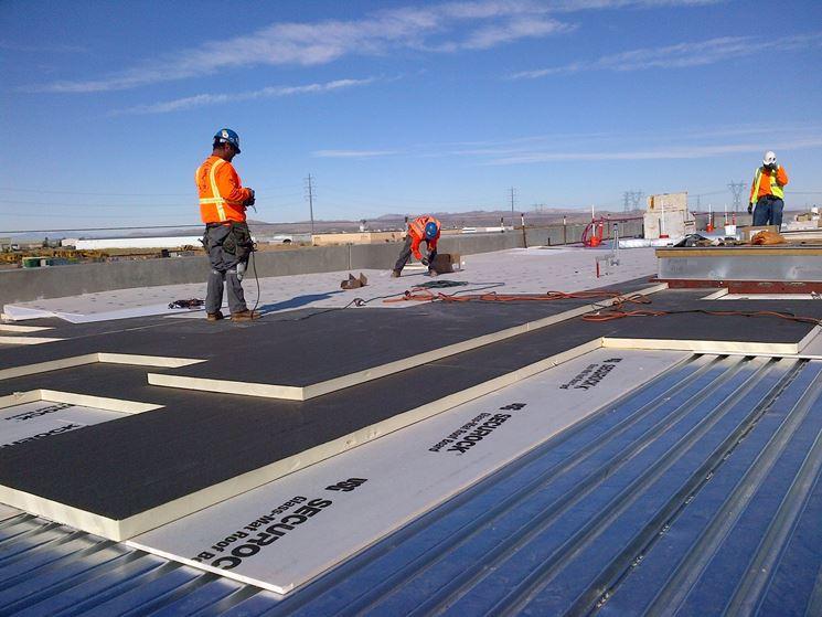 Realizzare un tetto coibentato