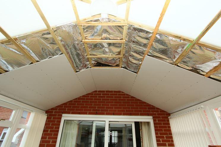 La coibentazione dei tetti rivestimento tetto - Coibentare una parete interna ...
