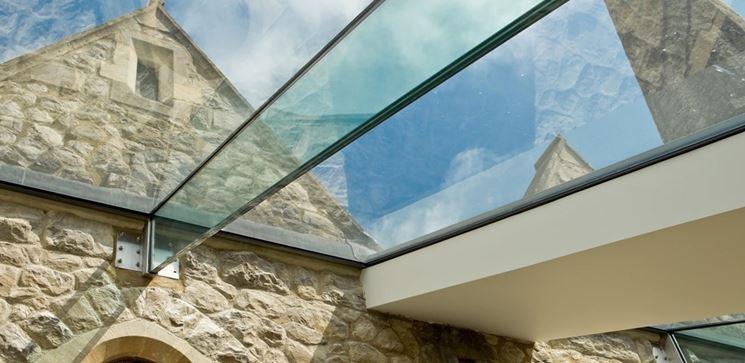 Le coperture in vetro - Rivestimento tetto - Copertura vetro