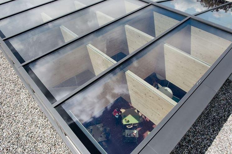 Tetto vetro