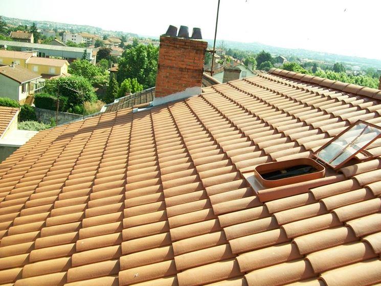 Copertura di un tetto