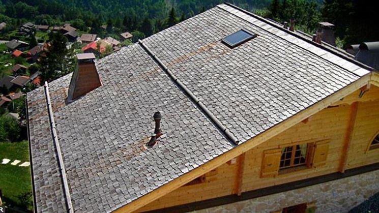 Copertura di un grande tetto