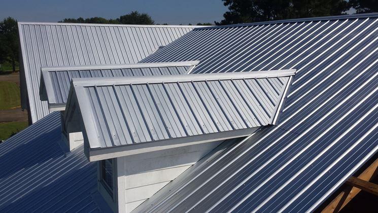 Coperture per tetti in metallo