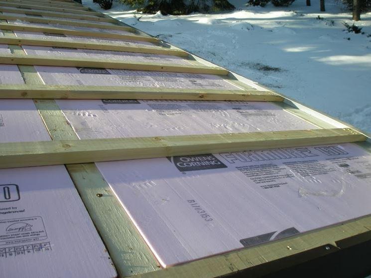 isolare termicamente tetto