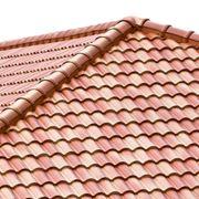tetto con tegole