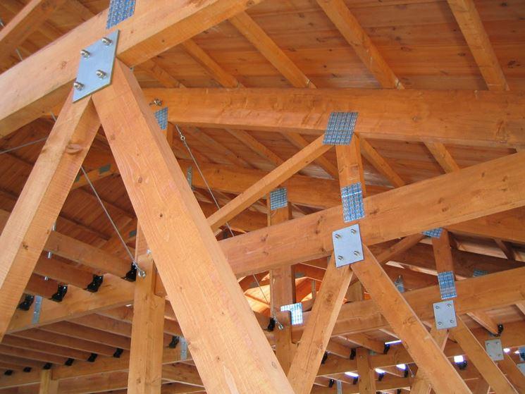Tetti in legno tetti e solai tipologie di tetto in legno - Isolare tetto dall interno ...