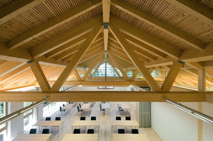 Tetti in legno - Tetti e solai - Tipologie di tetto in legno