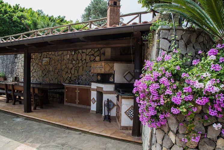 Tettoie tetti e solai tettoie realizzazione - Tettoia per giardino ...