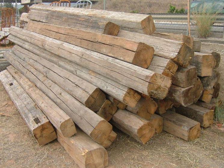 Dimensioni travi in legno