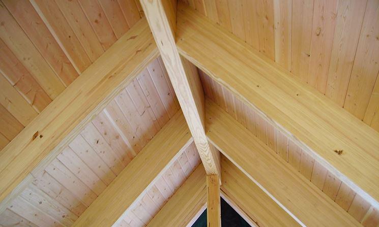 Un tipo di travi in legno