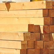 Tetto di travi di legno