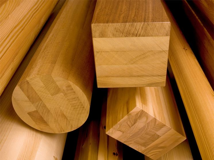 Travi legno lamellare