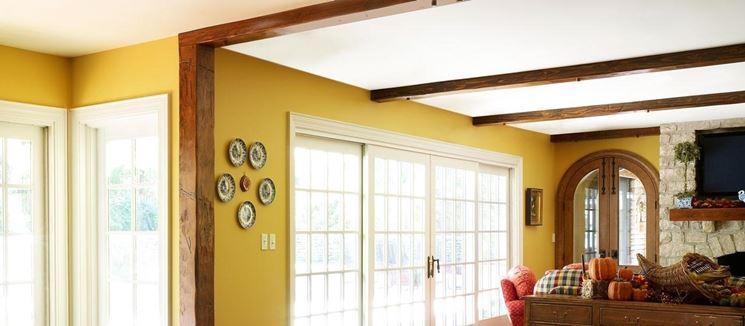 Faretti Su Travi Legno: Itdeart idee du arredo rendering interior design colore.