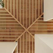 soffitto in legno lamellare
