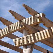 Le travi in legno lamellare