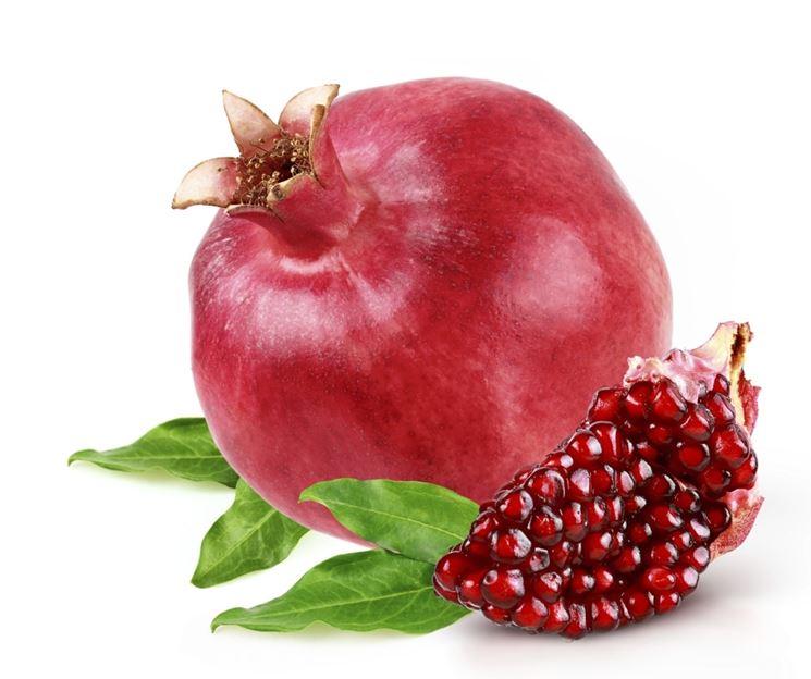 Esempio di frutto di melograno