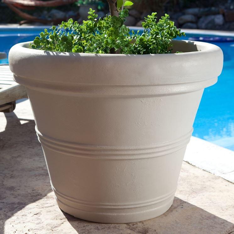 Fioriere in resina - Vasi per piante - Vasi piante