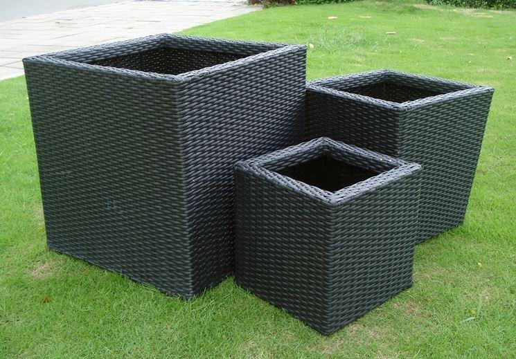 Fioriere in resina vasi per piante vasi piante for Vasi per terrazzi in resina