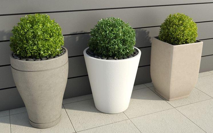 I vasi da esterno vasi per piante modelli vaso - Piante da esterno in vaso ...