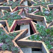 Idee originali per fioriere in legno