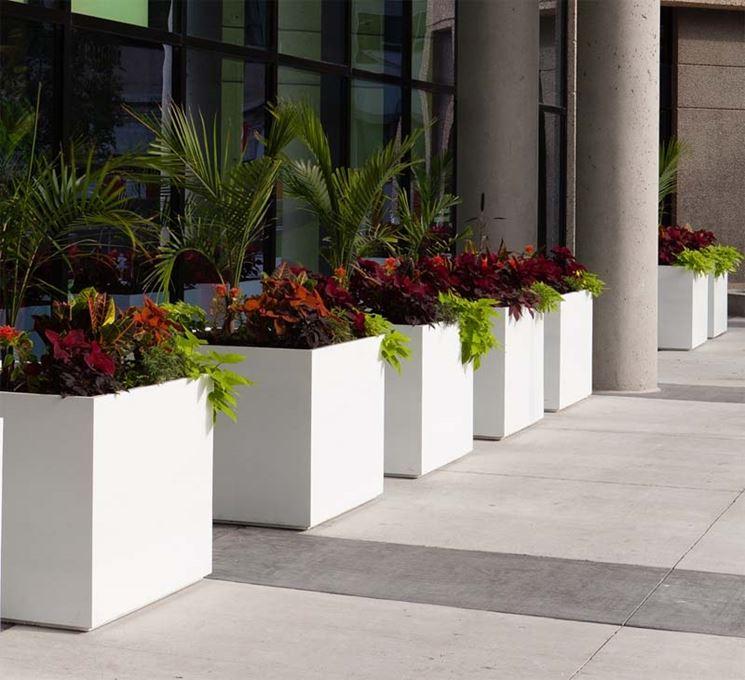 Vasiere da esterno vasi giardino plastica per piante il - Vasi per esterno ikea ...