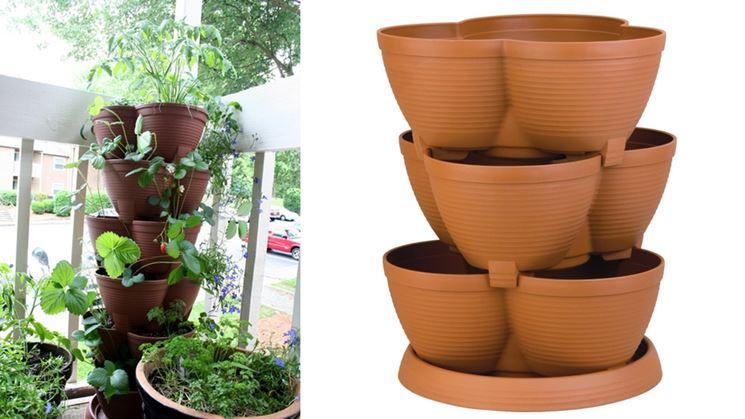 vasi per balcone - vasi per piante - vasi per il terrazzo - Vasi Di Plastica Colorati Per Piante